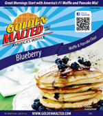 Blueberry Waffle and Pancake Mix