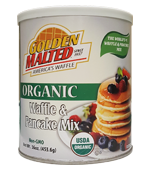 Organic Apple Cinnamon Waffle and Pancake Mix